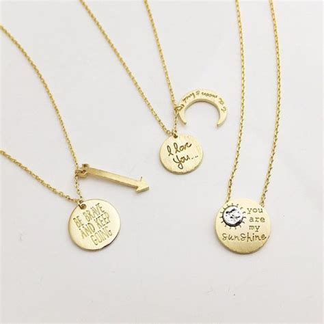 jewelry inspiration jewels quote on it gold gold jewelry gold necklace