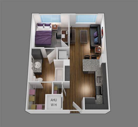 studio or 1 bedroom studio or 1 bedroom home design
