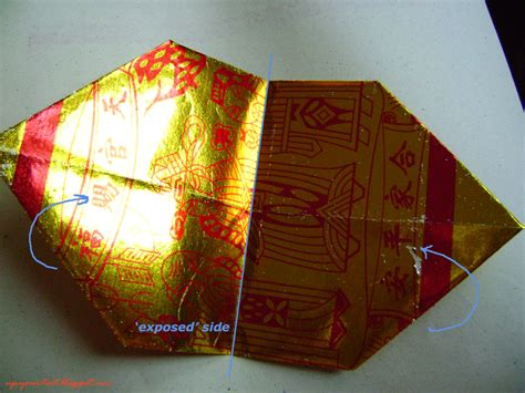 joss paper origami folding thnee kong half a pound of treacle