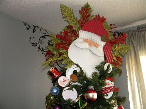 santa claus tree toppers santa claus tree topper tree