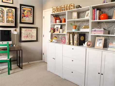 organized home office 5 tips for home office organization hgtv