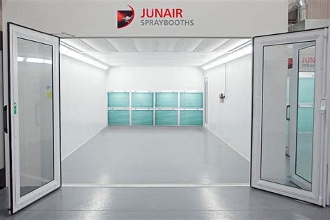 spray painting booths industrial filter spray booths junair spraybooths