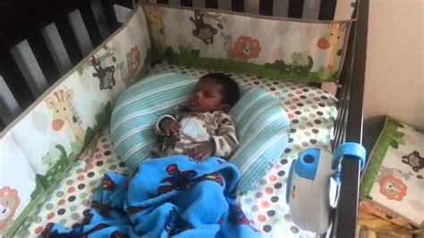 babies sleeping in crib 10 week baby sleep in crib