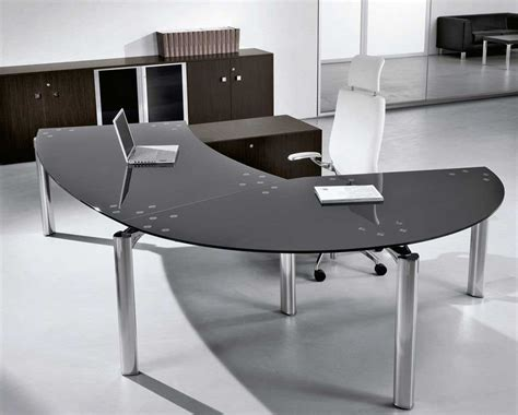 glass office furniture glass office desk design and stylish homefurniture org