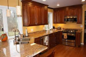 Kitchen Wall Colors With Cherry Cabinets kitchen paint colors natural cherry cabinets color