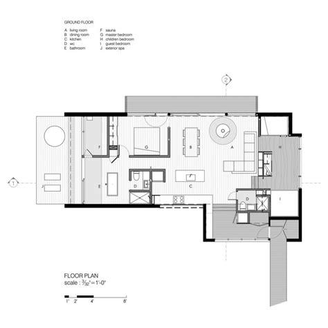 modern contemporary floor plans modern cottage floor plans