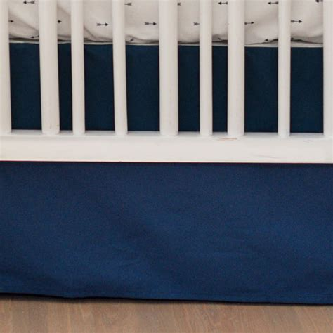 bed skirts for baby cribs navy crib skirt baby boy nursery skirt blue baby crib
