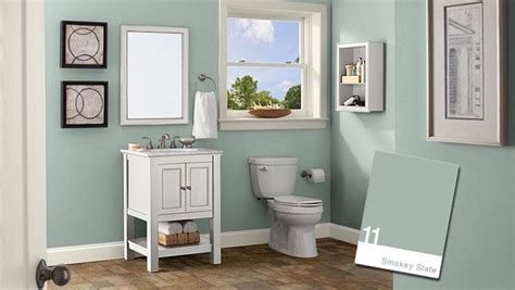 behr paint colors interior bathroom behr smokey slate bathroom for the home