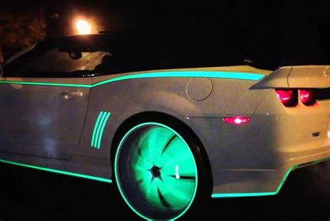 glow in the painted rims 5 futuristic gadgets for your car