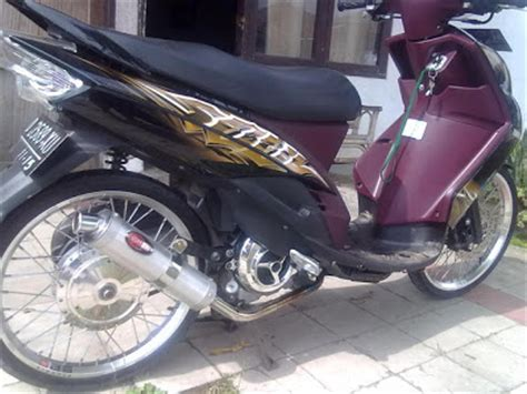 Modifikasi Mio Sporty Ban Kecil by Yamaha Mio Soul Modifikasi Racing Sport Kumpulan