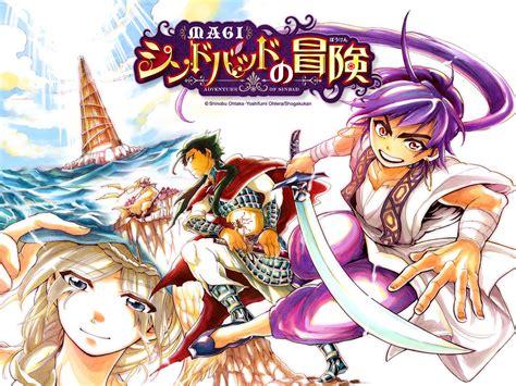 magi sinbad no bouken magi sinbad no bouken gets new tv anime adaptation