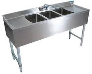 restaurant kitchen sinks stainless bar sink restaurant bar sinks usa equipment