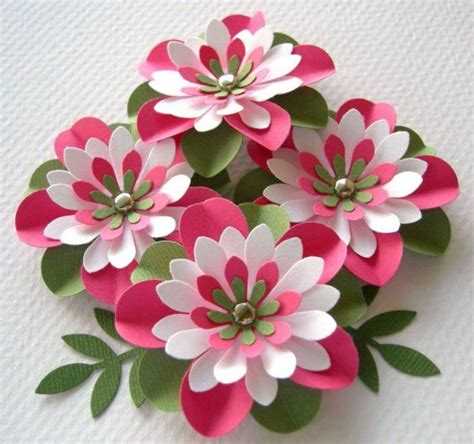 paper crafts flower 12 step by step diy papers made flower craft ideas for