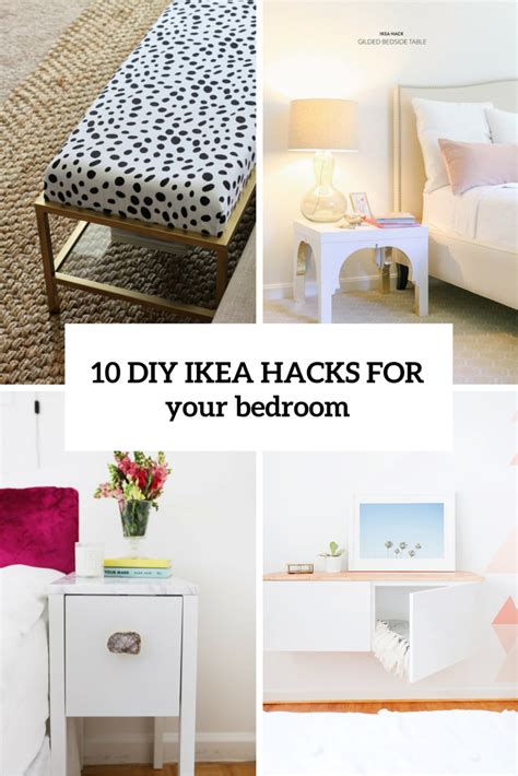 ikea hacks bedroom 10 awesome and practical diy ikea hacks for your bedroom
