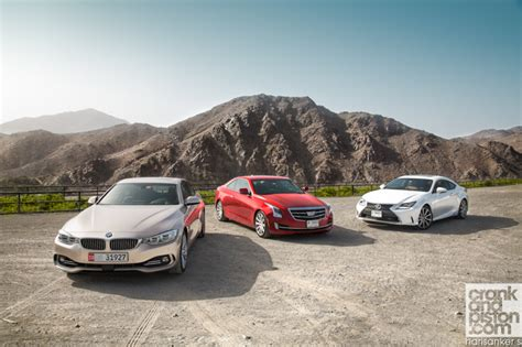 Cadillac Vs Lexus by Bmw 435i Vs Lexus Rc Vs Cadillac Ats Crankandpiston