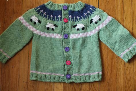 baby sweater knitting pattern sheep baby sweater knitting pattern yoke the sweatshop