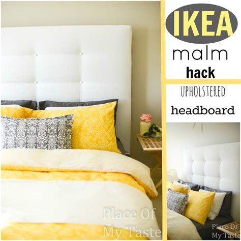 ikea hack bed ikea hacks a diy upholstered malm headboard