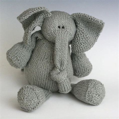knitted elephant free pattern 94 best images about knitted toys on ravelry