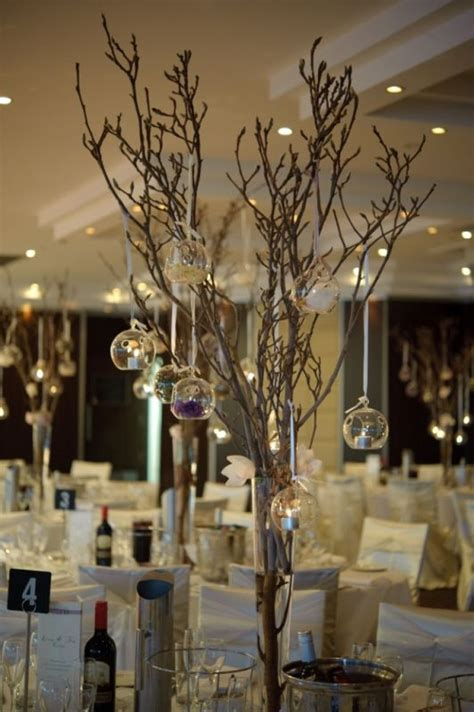 branches with lights centerpiece branch tea light centerpiece wedding stuff