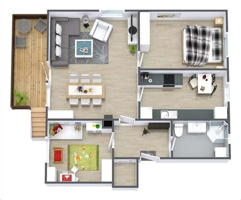 2 bedroom apartment layout design 10 awesome two bedroom apartment 3d floor plans
