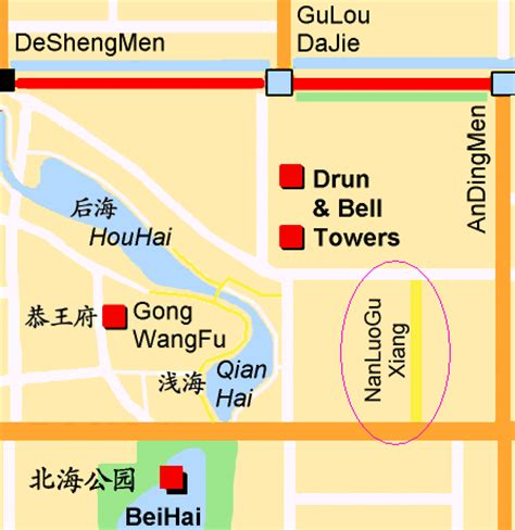 Home Decor Source nanluoguxiang beijing map