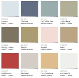 paint colors pottery barn sherwin williams pottery barn summer 2014 paint