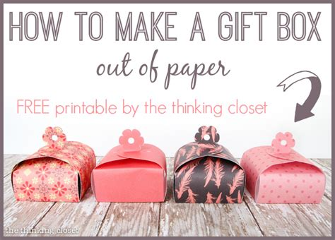 how to make jewelry out of paper paper gift box tutorial printable 100 blue nile