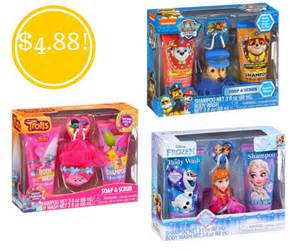 gifts walmart walmart kid s bath gift sets only 4 88