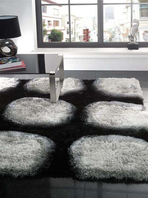 black and white modern rug black and white modern rug captivating gray living room