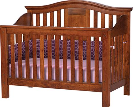 hardwood baby cribs gabrielle crib ohio hardwood furniture