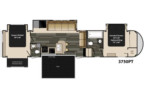 heartland 5th wheel floor plans 2015 gateway 3750pt floor plan 5th wheel heartland rv