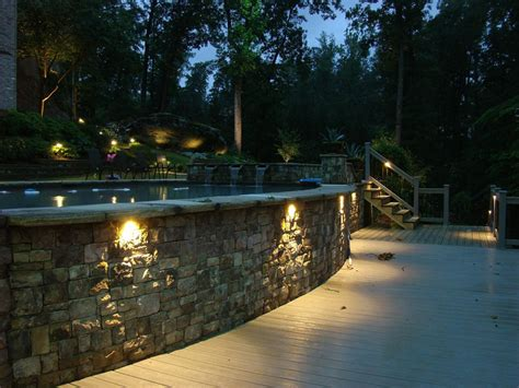 landscape lighting atlanta atlanta deck lighting outdoor path lighting nightvision lighting