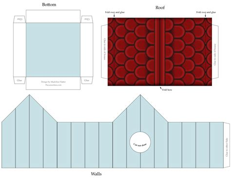 craft templates for best photos of cardstock birdhouse templates gingerbread