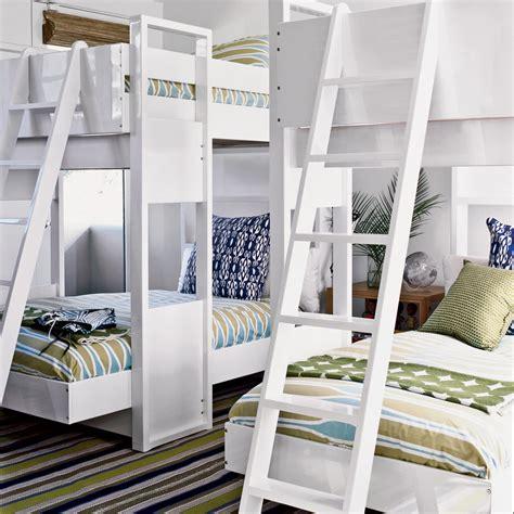 living home bunk bed 20 beachy bunk rooms coastal living