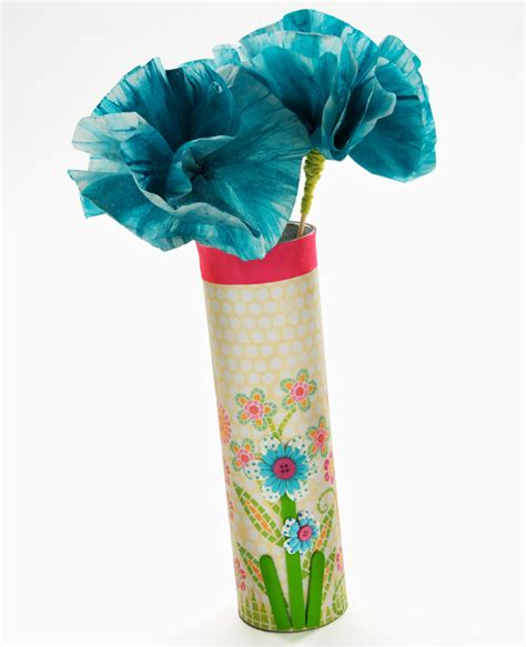 Cathie Filian Craft Paper Flowers And A Chip Vase
