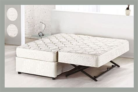 pop up trundle bed frame platform bed with pop up trundle home delightful