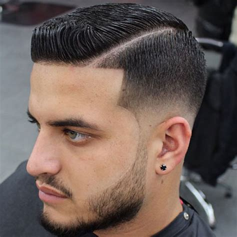 mens haircut with line line up haircut men s hairstyles haircuts 2018