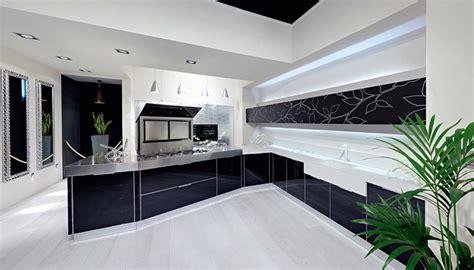 sleek kitchen designs ultra glossy and sleek kitchen design crystallo from