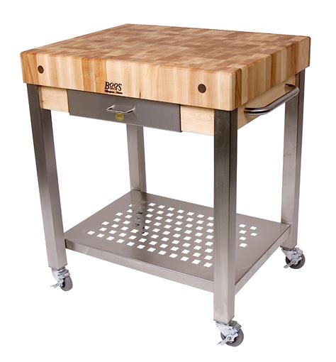 Kitchen Island Butchers Block john boos kitchen cart maple cucina technica