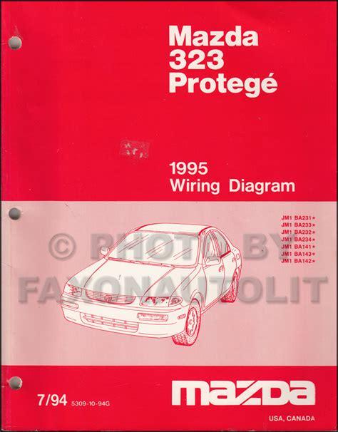 1995 mazda 323 protege repair shop manual original 1995 mazda 323 protege repair shop manual original