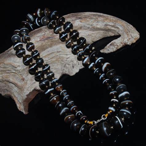 tibetan dzi tibetan dzi necklace antique medicine dzi