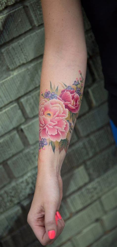 flower garden tattoos best 25 forearm flower ideas on floral