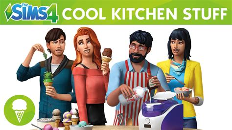 cool kitchen stuff the sims 4 cool kitchen stuff official trailer
