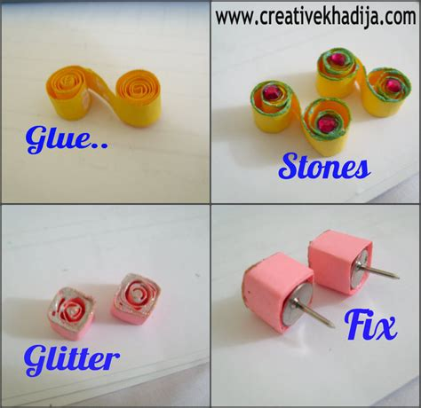 quilled jewelry tutorials step by step diy paper quilled earrings 183 how to make a set of paper