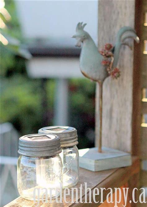 solar light project jar solar lights