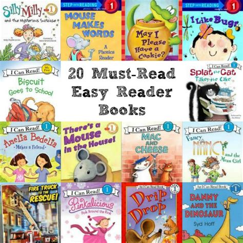 20 Must Read Easy Reader Books