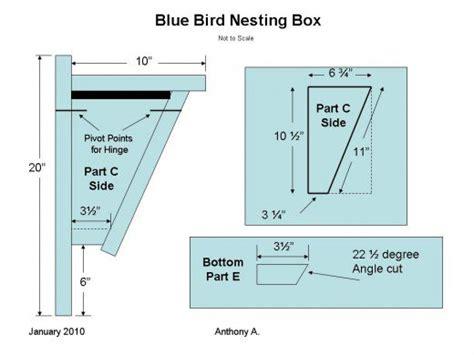 mountain bluebird house plans peterson bluebird nesting box peterson free engine image