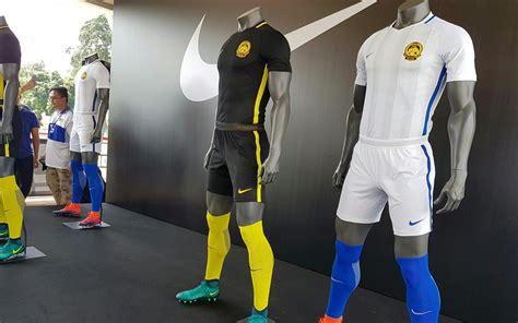 kit malaysia nike malaysia 2016 17 home and away kits released footy