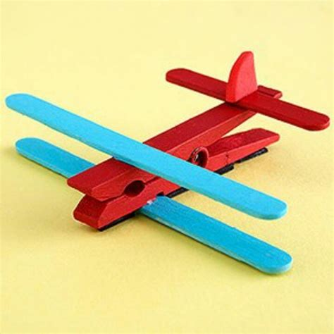 airplane craft projects clothespin airplane ideas clothespins