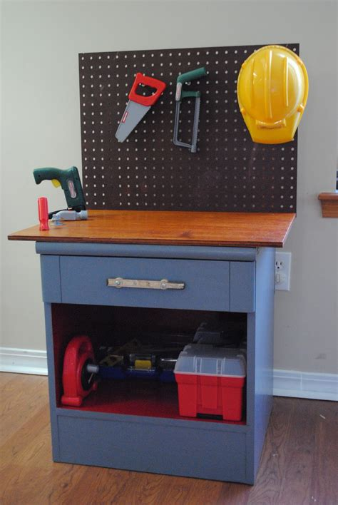 work entertainment ideas diy thrift store stand workbench